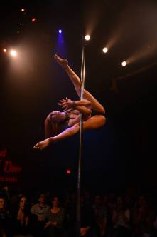 """KAYLIN (aka """"Tempest Rae"""") 2014 Pacific Pole Championships (Los Angeles) Level 3 Championship Division - 1st Place Reprised for the Girl Next Door stage Choreography and Coaching by Kelly Yvonne VIDEO: COMING SOON!"""